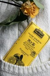 Chocolaterie Willy a Pauli BIO Hořká čokoláda Tanzanie 70% Sicilský pomeranč