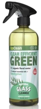 Eco Clean Čistič oken, skel a zrcadel s vůní Eukalyptus (s rozprašovačem)