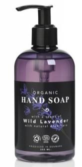 Eco Clean Tekuté mýdlo na ruce bio s vůní Levandule