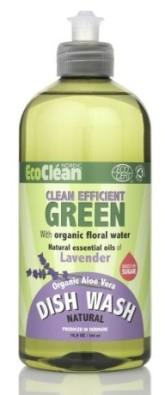 Eco Clean Prostředek na mytí nádobí s vůní Levandule