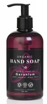 Eco Clean Tekuté mýdlo na ruce bio s vůní Geranium