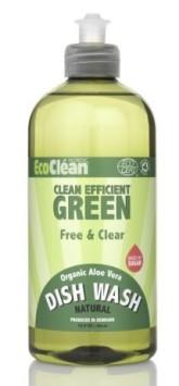 Eco Clean Prostředek na mytí nádobí s vůní Bez vůně