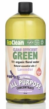 Eco Clean Univerzální čisticí prostředek - koncentrát s vůní Levandule
