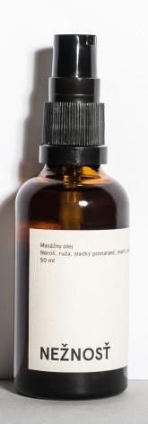 Mylo Něžnost, masážní tělový olej 50 ml