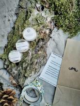 NuSpring Testovací sada přírodních deodorantů pro muže 3 kusy