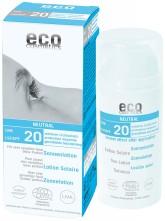 Eco Cosmetics Opalovací krém Neutral bez parfemace SPF 20 BIO