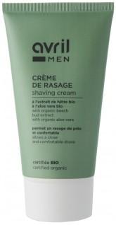 Avril Organic Organický krém na holení s aloe vera pro muže