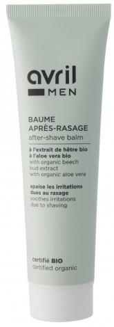 Avril Organic Organický balzám po holení s aloe vera pro muže