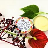 Biorythme Přírodní krém pro citlivou pleť - Olej z granátového jablka a melounových semínek velké balení