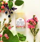 Biorythme 100% přírodní deodorant Růžová zahrada (velký)