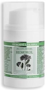 Nobilis Tilia Zklidňující gel Hemorol proti hemeroidům