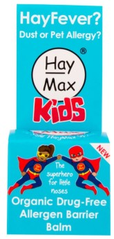 HayMax přírodní prostředek na alergii pro děti