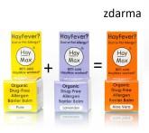 HayMax přírodní prostředek na alergii balíček 2+1 zdarma