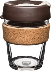 KeepCup Brew Cork ALMOND hrnek M