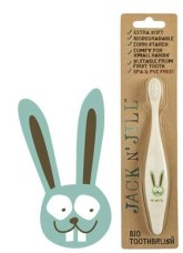 Jack n' Jill Dětský zubní kartáček Zajíček extra soft