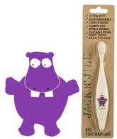 Jack n' Jill Dětský zubní kartáček Hrošík extra soft