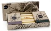 Vonai Dárkové balení 2 mýdla s mýdlenkou Marocká levandule a Rozmarýn a máta 200 g