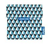 Roll'eat Trendy ekologická svačinová kapsa – Snack'n Go Tiles/Blue