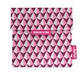 Roll'eat Trendy ekologická svačinová kapsa – Snack'n Go Tiles/Pink