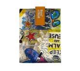 Roll'eat Trendy ekologická svačinová kapsa – Boc'n Roll Teens Collection / Monkey
