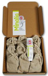 Minalia Přípravek do koupele na kožní problémy (9ks) + Minalia krém na suchou a citlivou pleť 30 ml