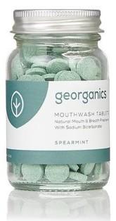 Georganics Tablety na osvěžení dechu - Spearmint (máta)