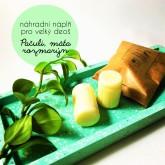 Biorythme 100% přírodní deodorant Pačuli, máta, rozmarýn (náhradní náplň pro velký deoš - 30g)
