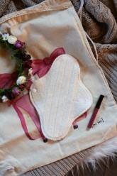 LalaH Denní menstruační vložka látková / BIO beránek prodyšná (25 cm)