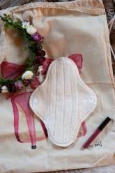 LalaH Denní menstruační vložka látková / BIO beránek prodyšná (23 cm)