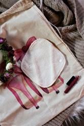 LalaH Intimka menstruační vložka látková / BIO beránek prodyšná (19 cm)