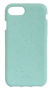 Pela Case Kompostovatelný obal na iPhone 7 / 8 - Ocean Turquoise
