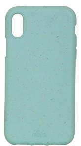 Pela Case Kompostovatelný obal na iPhone X - Ocean Turquoise