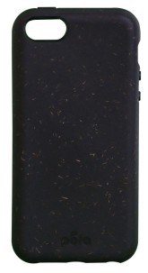 Pela Case Kompostovatelný obal na iPhone 5 / 5S / 5C a iPhone SE - Black