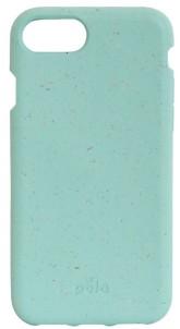 Pela Case Kompostovatelný obal na iPhone 6 / 6s / 7 / 8 - Ocean Turguoise