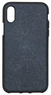 Pela Case Kompostovatelný obal na iPhone X - Black