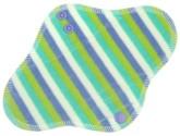 Anavy Denní vložka s PUL - Proužky (mentol, pomněnka - bavlněný velur) 23 cm