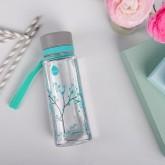 Equa Plastová lahev na pití Mint Blossom