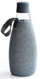 ReTap Obal na láhev 0,8 l - šedý úplet