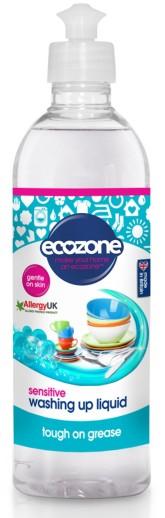Ecozone Prostředek na mytí nádobí Sensitive - bez vůně