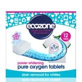 Ecozone Bělící tablety Oxy na bílé prádlo
