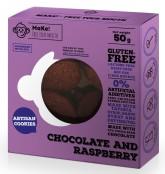 MaKe! Čokoládovo-malinové bezlepkové sušenky
