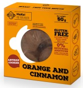 Pomerančovo-skořicové bezlepkové sušenky 50g