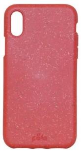 Pela Case Kompostovatelný obal na iPhone X - RED