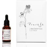 Pravájá Obličejový olej Růže/Pelargonie (dárkové balení)