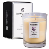 Aroma&Therapy by Stephen Cordina  Přírodní sójová svíčka - Ylang Ylang & Mandarinka