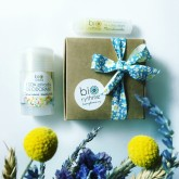Biorythme Balíček Malý dárek - deodorant Citronová meduňka + balzám na rty Mandarinka 2 ks