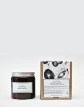 M-Factory Svíčka ze 100% přírodního vosku Amber - Slivka, Rebarbora