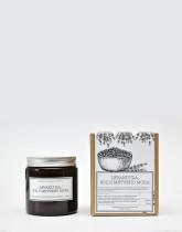 M-Factory Svíčka ze 100% přírodního vosku Amber - Levanduľa, Soľ z Mŕtveho mora 100% přírodní