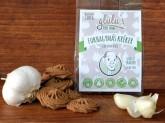 Glulu Česnekové krekry bez lepku 100 g