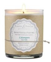 PLANTES & PARFUMS DE PROVENCE Řemeslně vyráběná sójová svíčka s vůní CALANQUES - mořská vůně 180 g